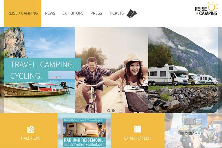 Travel, camping, cycling fair în februarie la Essen, Gemania