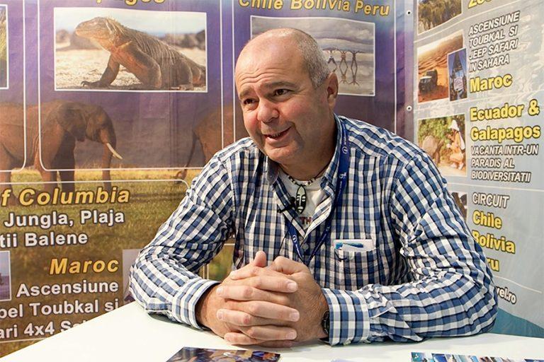 Radu Vatcu – manager Extrem Travel – interiu video