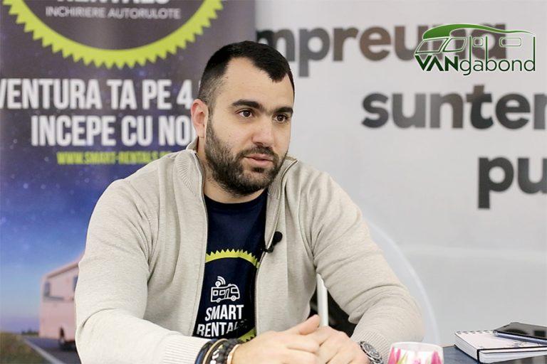 "Răzvan Sterian – ""Smart Rentals"", rental company – video interview"