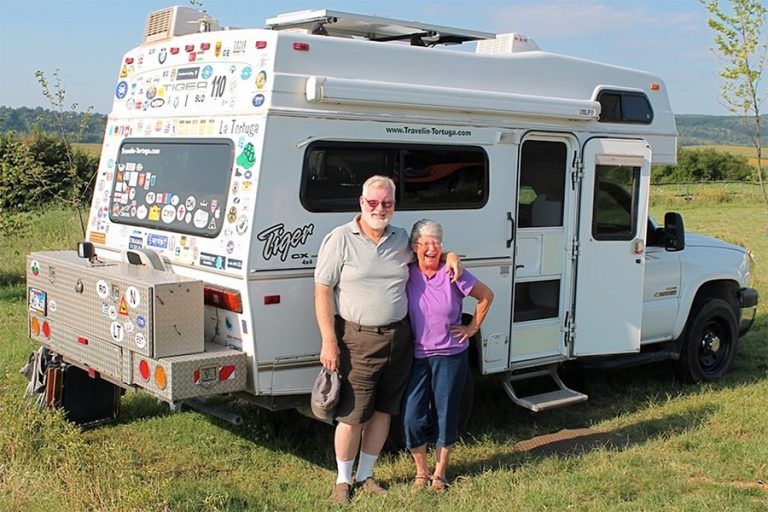 Kathy & Rick Howe – o familie de americani cu motorhome prin lume
