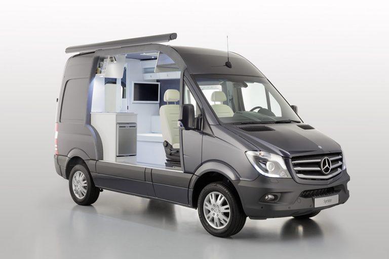 Mercedes Sprinter Caravan Concept – o casă într-un van