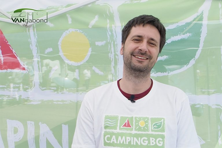 Veselin Valev about Camping & Caravanning Expo in Sofia