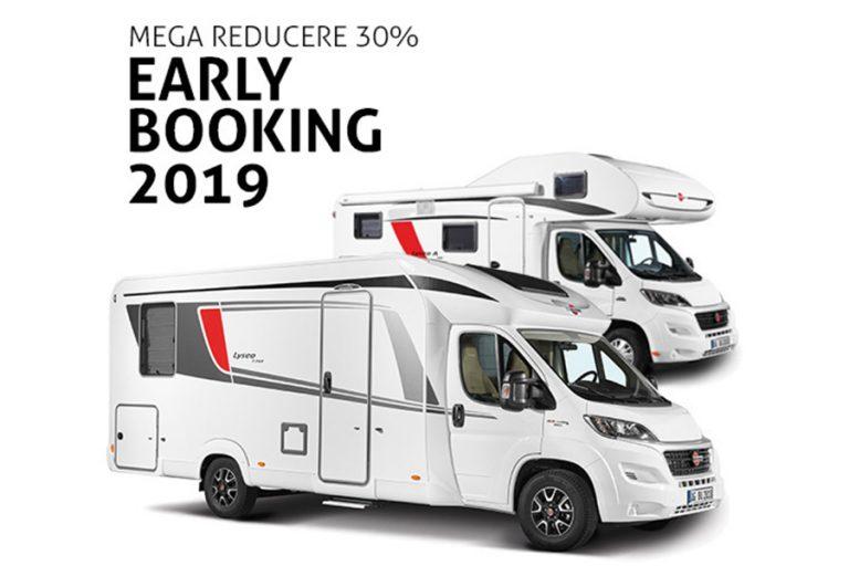 Autorulote cu discount 30% pentru rezervari 2019