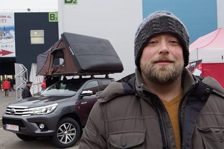 iKamper – corturi pentru 4×4 la Târgul de turism al României