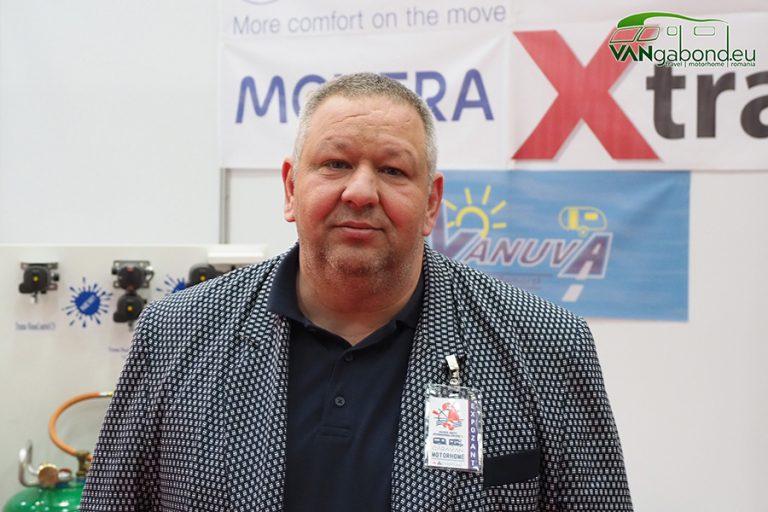 Dealerul rulotelor poloneze Niewiadow la Romexpo