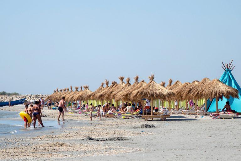 Plaja Cap Midia – o plajă liniștită departe de vacarmul litoralului
