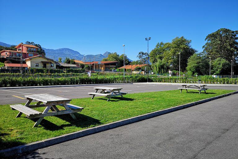 Parcare pentru autocaravane din Llanes, Spania, nu corespunde tuturor așteptărilor