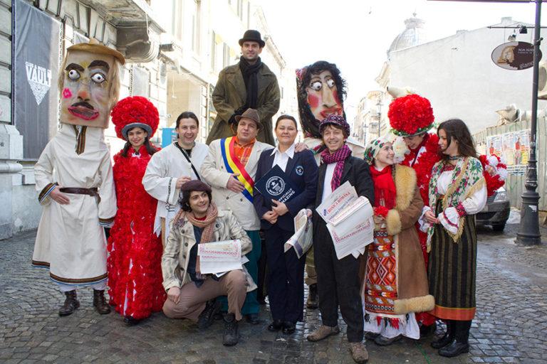 Record mondial de Dragobete – Iubește românește