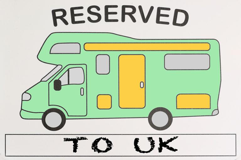 Cu autorulota spre Marea Britanie