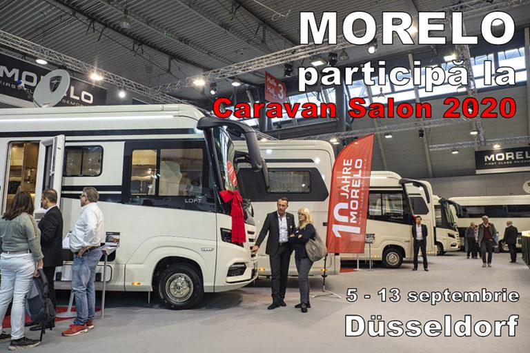 MORELO a anunțat că va participa la Caravan Salon 2020