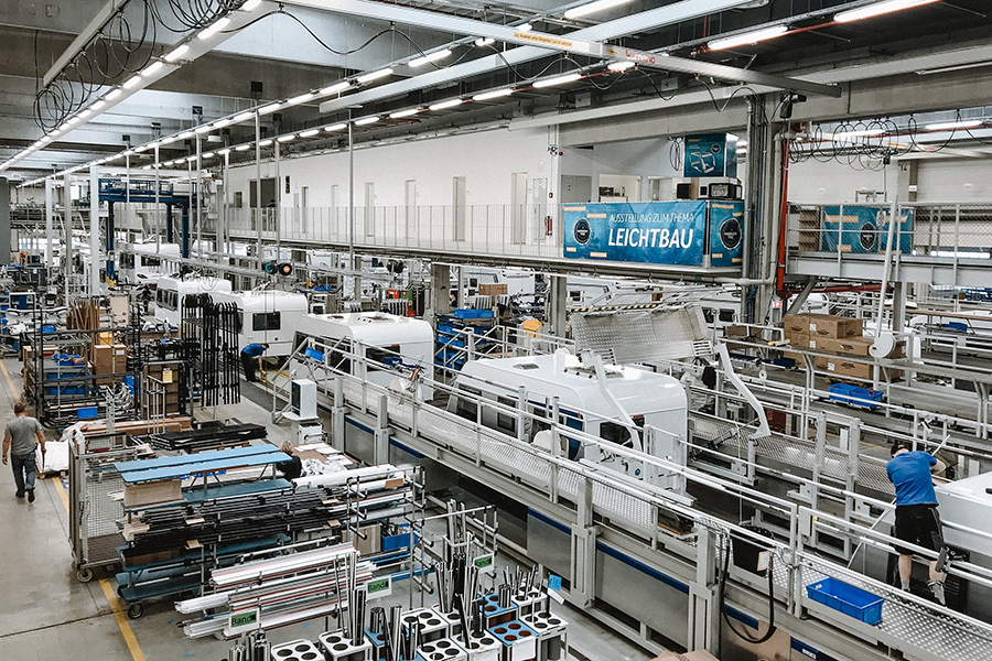 foto: Knaus- fabrica Jandelsbrunn