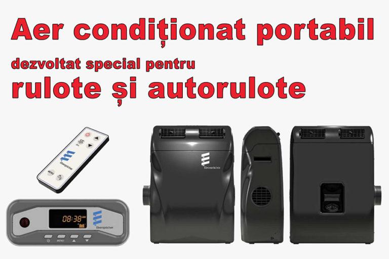 Sistemul de aer condiționat portabil dezvoltat special pentru rulote și autorulote