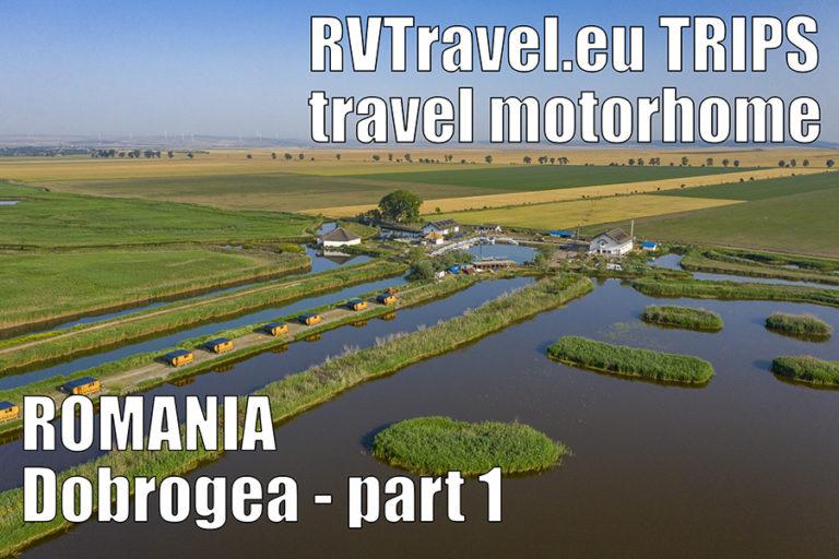 RVTravel.eu trips – Dobrogea, România, off camping lângă Jurilovca