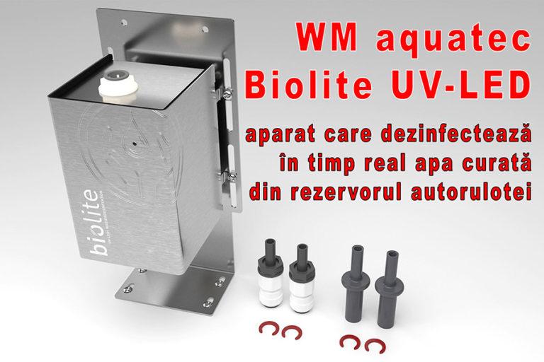 Un sistem inovator face senzație în lumea autorulotelor: WM aquatec Biolite UV-LED