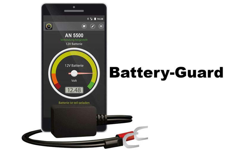 Monitorizarea bateriei prin smartphone-ul – cu ajutorul dispozitivului Battery-Guard
