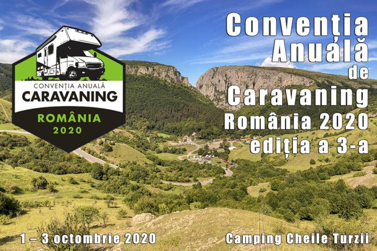 Convenția Anuală de Caravaning din România 2020, ediția a 3-a