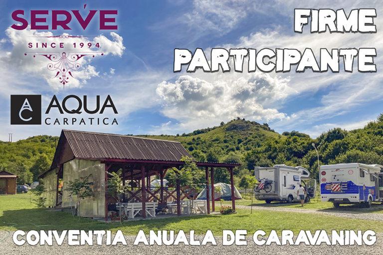 Firme participante la Convenția Anuală de Caravaning ediția a 3-a
