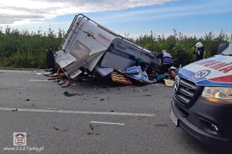 Autorulota implicată în accident în sudul Poloniei