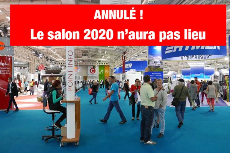 SALON DU CAMPING-CAR DE PARIS LE BOURGET 2020 – a fost anulat