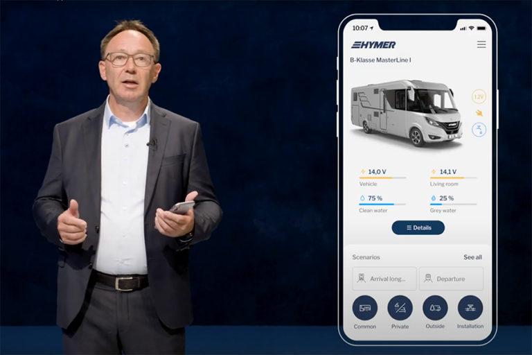 Aplicația Hymer Connect: primul ecosistem inteligent pentru conectivitate cu autorulota