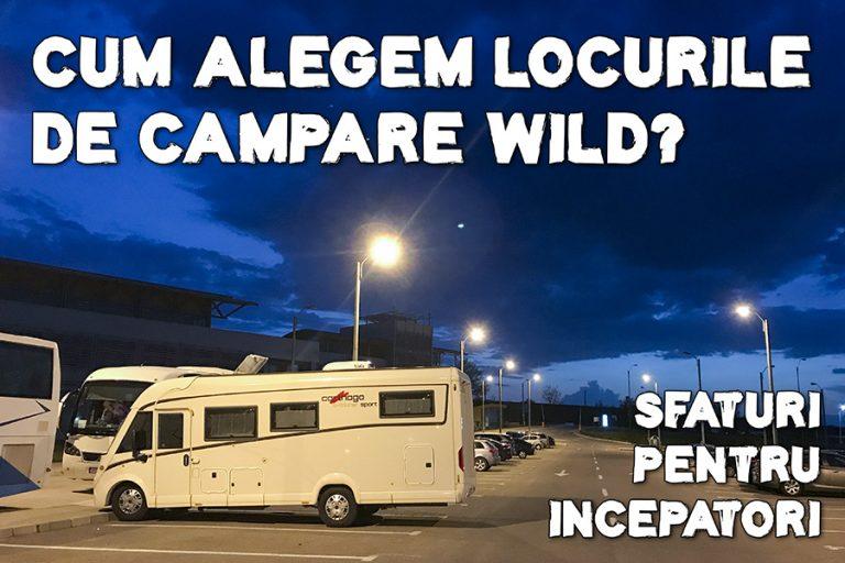 Cum alegeți locurile de campare sălbatică în Europa când călătoriți cu autorulota
