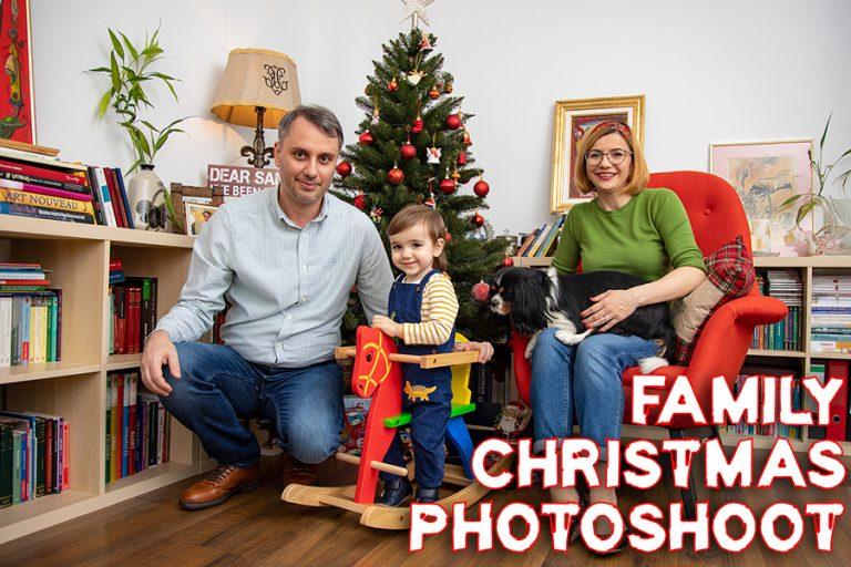 Magia Crăciunului în ședințele foto de familie