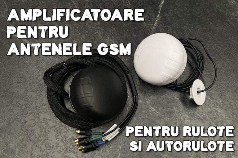 Amplificator pentru antena gsm la rulote și autorulote