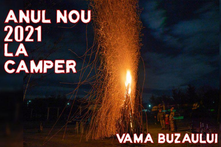 Anul Nou 2021 la autorulotă în Vama Buzăului