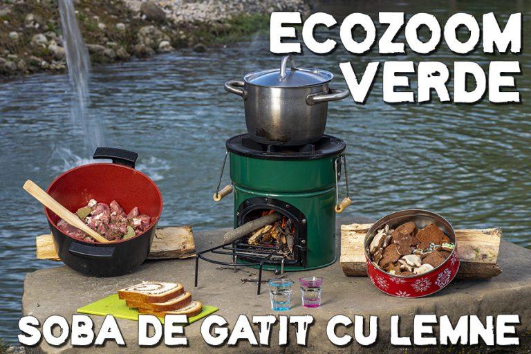 Am testat soba de gătit cu lemne, EcoZoom, în camping