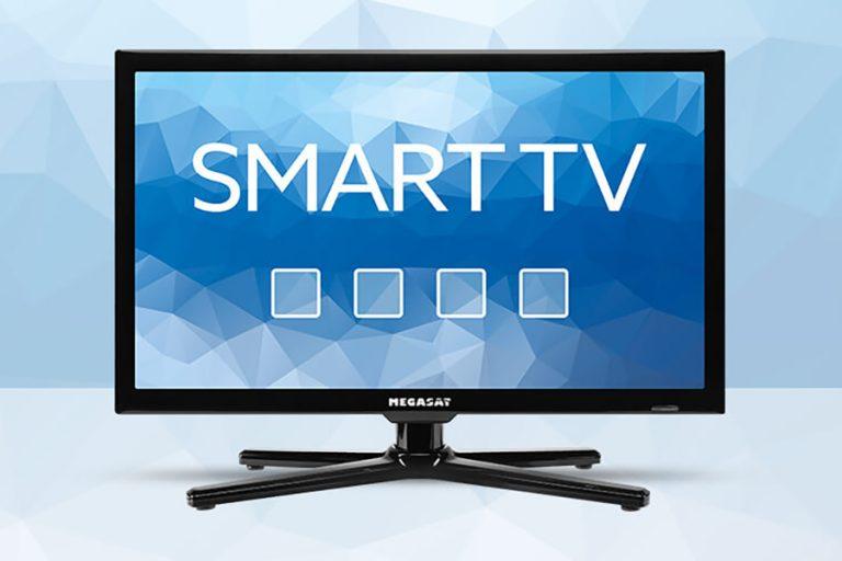 Nou la Megasat: televizoare inteligente pentru rulote și autorulote
